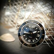"Müller&Son Watch ""Modern Gold Mod 1"" made from Seiko SNZH57 Fifty Five Fathoms"