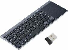 Wireless Keyboard With Touchpad Foldable 2.4GHz For PC Window iPad Android iOS
