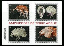 FSAT TAAF 2017 MNH Amphipods of Adélie Land 4v M/S Shellfish Crustaceans Stamps