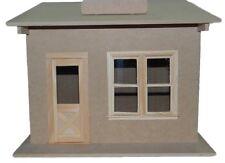 Dollhouse Miniature Room Box/One Room Shop Kit w/Shingles, Timberbrook #TIM1000