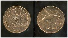 TRINIDAD ET TOBAGO    1  cent  2005   ANM