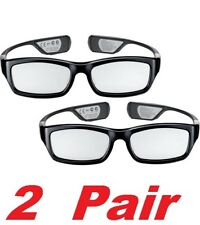 GENUINE Samsung SSG-3300GR Rechargeable 3D Active Glasses Kit (2 Pack) NEW