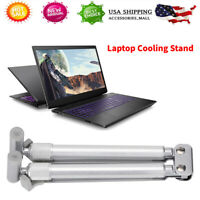 Folding Laptop Holder Lap Desk Computer Base Cooling Stand Bracket Notebook Rise