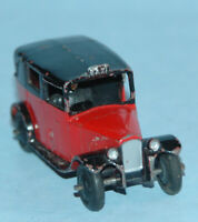 Dinky Toys MECCANO England #36g TAXI with Driver 1947 red & black closed window