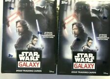 2018 TOPPS STAR WARS GALAXY BLASTER BOXES  ( 2 BOX LOT ) SALE!