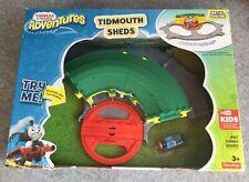 THOMAS AND FRIENDS Tidmouth Sheds BNIB Thomas Metal Engine Rotating Turntable 3+