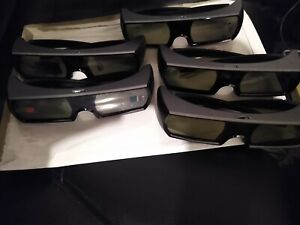 OEM Sony PS3 3D Rechargeable Glasses PS3 3D TV MONITOR!NEW BATTERY!PlayStation 3