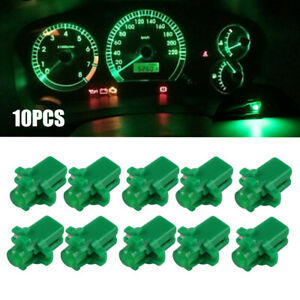 10x T5 B8.3D 5050 SMD Car Auto LED Dashboard Dash Gauge Instrument Lights Bulbs