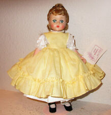 Vintage Madame Alexander Lissy Doll With Original  Wrist Tag - Little Women AMY