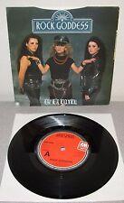 """ROCK GODDESS Heavy Metal Rock N Roll 1982 UK Vinyl 7"""" Jody Turner Hard Rock"""