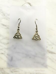 Celtic Knot Earrings Witch Pagan Celtic