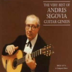 The Genius of Andres Segovia: Five Centuries of the Classical Guitar - CD