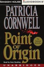 Point of Origin No. 9 by Patricia Cornwell (1998, Audio CASSETTE) VERY GOOD