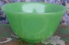 Antique Tibetan Natural Green Jade Tea Cup, Nepal