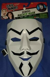 "Spy Ninjas Chad Wild Clay & Vy Dwaint ""Project Zorgo Hacker Mask"""