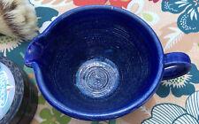 Shaving Scuttle  Bowl Handmade Pottery stoneware handmade USA free gift