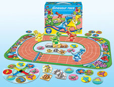 Orchard Toys Dinosaur Race - Race Your Dinosaur to the Finish Line - NEW
