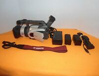 CANON DM-GL1A MINI DV WITH 2 BATTERIES AND MANY ACCESSORIES, NICE BUNDLE!