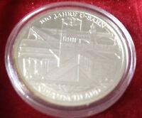10 EUR 2002 D - 100 Jahre U-Bahn in Deutschland, 925er Silber, PP, Jg 491