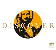DISCOVER VIVALDI  CD NEW! VIVALDI,ANTONIO LUCIO