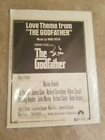 The Godfather Love Theme Sheet Music Piano Solo NEW  000292042
