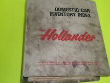 HOLLANDER 1973-1983 DOMESTIC CARS ARRANGED BY MODEL & YEAR INVENTORY INDEX