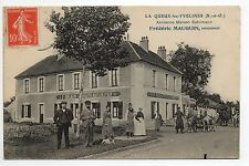LA QUEUE LES YVELINES Yvelines CPA 78 Maison RUHLMANN F. MAUGUIN Successeur