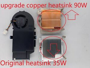 Dell Optiplex 3080 5080 7080 MFF ULV CPU Cooler FAN with Copper Heatsink 0JV47V