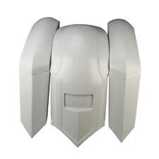 Fiberglass Unpainted Fender Overlay Cover Saddle Bag For Harley Road King Glide
