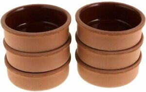 Suppenschalen 6 Teilig Rund 10-12cm Tongeschirr Tonschale