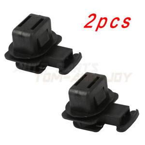 2Pcs Black Seat Cushion Rear Cushion Pad Clips For Honda Acura 82137-SDA-003