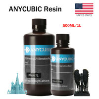 US ANYCUBIC Resin 405nm UV Sensitive Rapid Resin for DLP LCD Photon 3D Printer