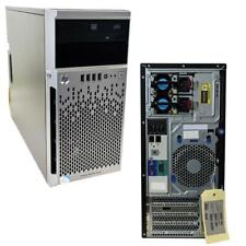 HP ProLiant ML310e G8 Tower Server Intel G1610 2.60GHz CPU 16GB RAM 4 Bay 3.5