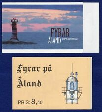 More details for aland, stamp booklet x2, 1992 & 2008, lighthouses, mnh (ref. t2942)