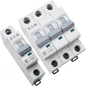 Leitungsschutzschalter EATON HOME LS-Schalter MCB Sicherungsautomat B C 1-3 P