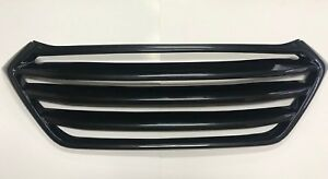 Front Radiator Grille PAINTED Carbon Black for 16 18 Hyundai ALL NEW TUCSON
