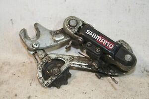 Vintage Bicycle Shimano Long Reach Rear Derailleur With Hanger Plate