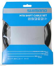 Cables y fundas set negros para bicicletas