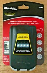 Master Lock  S425D  Light Up Dial Key Safe