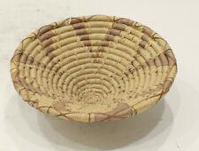 African Basket Botswana Natural Woven Palm Basket
