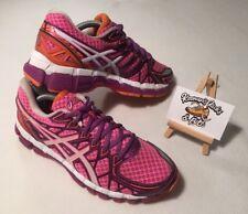 Asics Gel-Kayano 20 T3N7N White Pink Running Trainers UK 5 'GYM YOGA MARATHON'