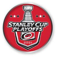 CAROLINA HURRICANES PLAYOFFS PIN 2020 - 2021 NHL STANLEY CUP FINALS ? HOCKEY