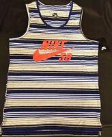 Nike SB Skateboard  Boys Tank Top T shirt Game Royal 977891 U89 Youth Size L