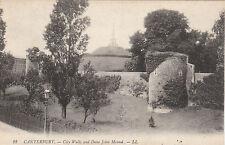 City Walls & Dane John Mound, CANTERBURY, Kent LL