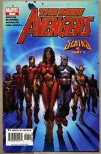 New Avengers #7-2005 fn 6.0 1st app of the Illuminati Brian Michael Bendis