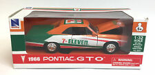 Exclusive Rare Newray 7-Eleven 1966 Pontiac GTO 1:32 Scale Pull Back Car