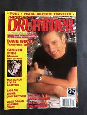 Modern Drummer Magazine March 2001  Dave Weckl