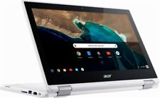 """Acer R11 2-in-1 Touch-Screen Chromebook 11.6"""" Intel Celeron N3060 4GB 16GB White"""
