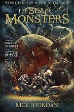 The Sea of Monsters: The Graphic Novel by Rick Riordan (Paperback / softback, 2013)