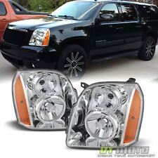 2007-2014 GMC Yukon XL 1500 2500 Headlights HeadLamps Replacement Left+Right Set
